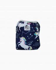 Wasbare Zwemluier Groot Unicorns Blauw1